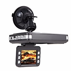 (Mit russischer Sprache) hd Auto DVR Radardetektor GPS Verfolger 3 in 1 720p dash Nocken Video Registrator G-Sensor Autokamerarecorder