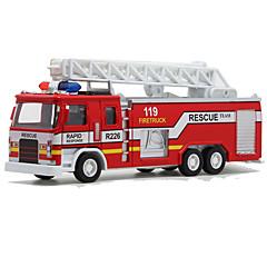 Carros de brinquedo Brinquedos Trem Caminhão de Bombeiro Brinquedos Cauda Brinquedos Liga de Metal Metal 1 Peças Dom