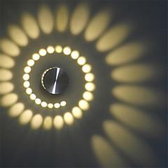 Χαμηλού Κόστους Ξεχωριστές απλίκες-AC 100-240 3 LED Integrat Μοντέρνο/Σύγχρονο Άλλα Χαρακτηριστικό for LED Mini Style Συμπεριλαμβάνεται Λάμπα,Ατμοσφαιρικό ΦωςΞεπλύνετε