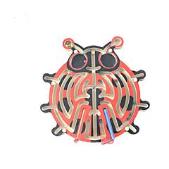 교육용 장난감 나무 퍼즐 미로&순차 이동 퍼즐 미로 장난감 아동 아동용 1 조각
