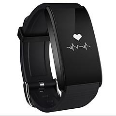 billige Smartklokker-Smart armbånd til iOS Pulsmåler / Blodtrykksmåling / Kalorier brent / Lang Standby / Pekeskjerm Samtalepåminnelse / Aktivitetsmonitor / Søvnmonitor / Stillesittende sittende Påminnelse / Finn min