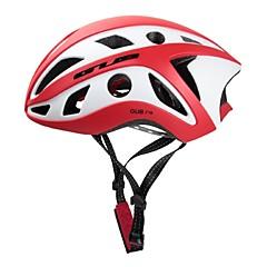 Esportivo Unisexo Moto Capacete 22 Aberturas Ciclismo Ciclismo PC EPS Vermelho