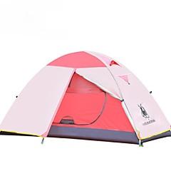 billige Telt og ly-GAZELLE OUTDOORS 1 person Telt Dobbelt camping Tent Ett Rom Brette Telt Hold Varm Fukt-sikker Vanntett Vindtett Regn-sikker til Jakt