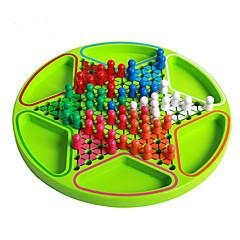 Jogo de Tabuleiro Jogo de xadrez Brinquedos Circular Crianças Unisexo Peças