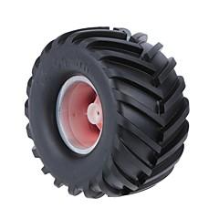 Allgemeines RC Tire Reifen RC Autos / Buggy / Nutzfahrzeuge Rot Gummi Plastik