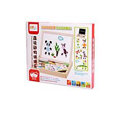 Bildungsspielsachen Holzpuzzle Spielzeuge Tiere Kinder 1 Stücke