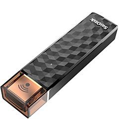 baratos Pen Drive USB-SanDisk 128GB unidade flash usb disco usb USB 2.0 / WIFI Plástico Armazenamento Wireless