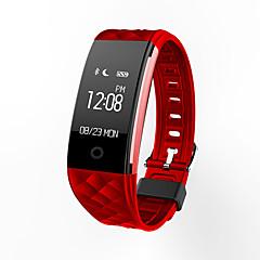 tanie Inteligentne zegarki-S21 Inteligentny zegarek / Rejestrator aktywności fizycznej / Inteligentne Bransoletka iOS / Android Wodoszczelny / Wodoodporny / Sport / Pulsometry Czujnik pracy serca TPU Biały / Czarny / Czerwony
