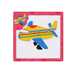 Puzzles 3D - Puzzle Bausteine Spielzeug zum Selbermachen Flugzeug