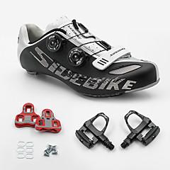 BOODUN/SIDEBIKE® joggesko Veisykkelsko Sykkelsko Sykkelsko med pedal og tåjern Unisex Demping Ultra Lett (UL) Vei Sykkel PU Gummi Sykling