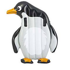 billiga Uppblåsbara badringar och badmadrasser-Pingvin Uppblåsbara badflottar Flytande fåtöljer pvc Barn Pojkar Flickor Leksaker Present