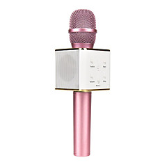 cheap Microphones-Q7 Magic Karaoke Microphone KTV Player Bluetooth MIC Speaker Record Music For Iphone Android