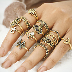 Women's Unique Design Vintage Bohemian Costume Jewelry Alloy Evil Eye Jewelry For Party Daily Casual