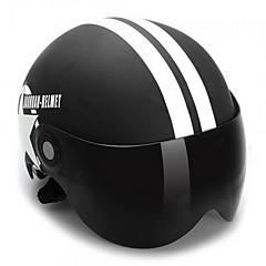 반 얼굴 오토바이 헬멧 선글라스 고글 유연한 복근 거리 오토바이 헬멧 매트 블랙 색상