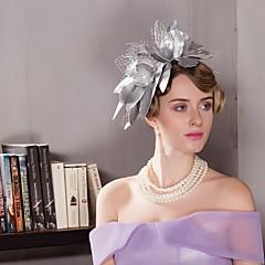 レザーレットレースの魅力帽子のヘッドピースクラシックな女性的なスタイル