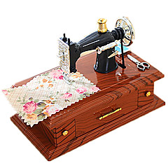 뮤직 박스 장난감 광장 나무 조각 남여 공용 생일 선물