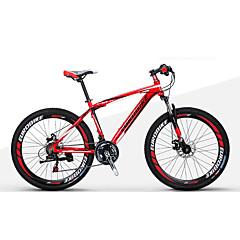 אופני הרים מתקפל אופניים רכיבת אופניים 21 מהיר 27.5 אינץ 1.95 אינץ ' Shimano דיסק בלימה כפול מזלג שיכוך שלדת סגסוגת אלומיניום ללא דאמפים