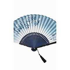 Fanoušci a slunečníky-Piece / Set Ruční ventilátor Plážový motiv Zahradní motiv Asijská motiv Květinový motiv Motýlí motiv Klasický motiv
