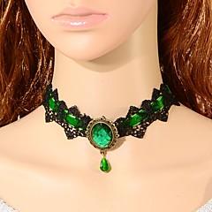 Dámské Obojkové náhrdelníky Crown Shape Krajka Módní turečtina Klasický Šperky Pro Svatební Párty Zvláštní příležitosti Narozeniny Zásnuby