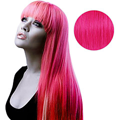 cheap Highlighted Hair-Tape In Human Hair Extensions Human Hair Straight Women's Daily