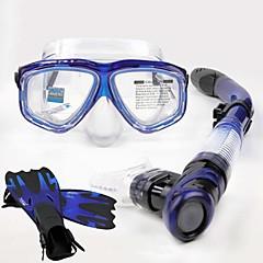 ダイビングマスク スノーケル 保護 ダイビング&シュノーケリング ネオプレン グラスファイバー シリコーン