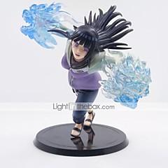 נתוני פעילות אנימה קיבל השראה מ Naruto Hinata Hyuga PVC CM צעצועי דגם בובת צעצוע