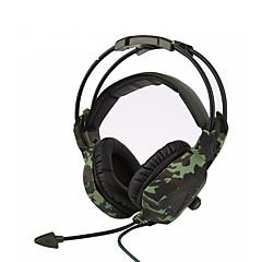 sades SA-931スーパーステレオ低音迷彩ヘッドフォンホームオフィスゲームゲーマーのノイズアイソレーション快適なヘッドセット