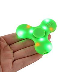 Handkreisel Handspinner Spielzeuge Tri-Spinner Plastik EDCBluetooth Lautsprecher Zum Töten der Zeit Fokus Spielzeug Lindert ADD, ADHD,