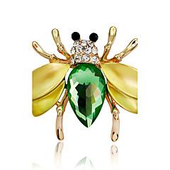Dámské Dívky Brože Zvířecí Módní Přizpůsobeno Euramerican Štras Slitina Animal Shape Šperky Pro Svatební Párty Zvláštní příležitosti Denní