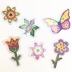 Sets zum Selbermachen Bildungsspielsachen Holzpuzzle Kunst & Malspielzeug Spielzeuge Blume Schmetterling EVA Stücke keine Angaben Kinder