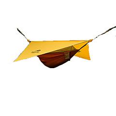 halpa -Naturehike 1 henkilö Riippumatto Suojat ja pressut Kaksinkertainen teltta Yksi huone Taitettava teltta Kannettava Taiteltava varten
