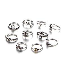 billige Motering-Dame Ring Set - Legering Vintage En størrelse Gull / Sølv Til Daglig
