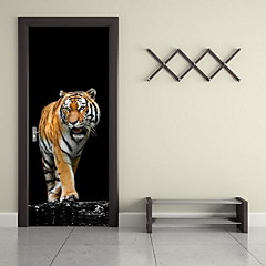 cheap Home Decor-Door Stickers - Animal Wall Stickers Animals Living Room / Bedroom