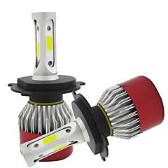 billige Tåkelys til bil-H4 Bil Elpærer COB LED Hodelykt / Tåkelys