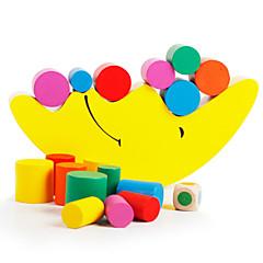 Bausteine Bildungsspielsachen Stapelspiele Spielzeuge Kreisförmig Zylinderförmig MOON Kinder Stücke