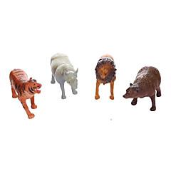 Bildungsspielsachen Spielzeuge Dinosaurier Löwe Tiere Bär Tiger Jungen 4 Stücke