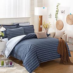 billiga Påslakan-Ljusblå Modernt Cotton Reaktiv Tryck 1 st.Bedding Sets / 300
