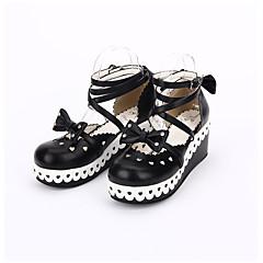 Încălțăminte Lolita dulce Clasic/Traditional Lolita lolita Prințesă Confecționat Manual Elegant Platformă Buline lolita Dantelă Împletit 6