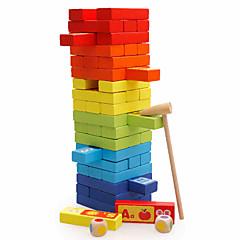 tanie Gry i puzzle-Gry planszowe Gry zręcznościowe Wieże z klocków Kwadrat Balans Edukacja Duży rozmiar Klasyczny Dla dzieci Zabawki Prezent