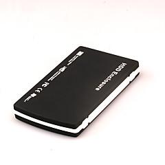 2,5 polegadas usb2.0 sata caixa de disco rígido móvel