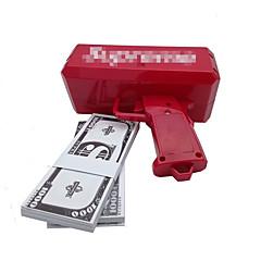 rahaa ase, jotta se sade! 9v akku, leikkirahaa, punainen väri