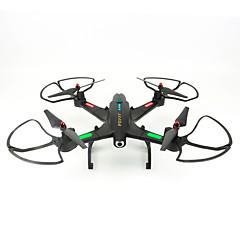 billige Fjernstyrte quadcoptere og multirotorer-RC Drone FQ777 FQ02W 4 Kanal 6 Akse 2.4G Med HD-kamera 0.5MP 640P*480P Fjernstyrt quadkopter En Tast For Retur / Hodeløs Modus Fjernstyrt