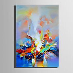 cheap Wall Art-Print Stretched Canvas - Abstract Retro