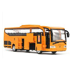 Carrinhos de Fricção Carros de brinquedo Ônibus Brinquedos Carro Liga de Metal 1 Peças Unisexo Aniversário Natal Dia da Criança Dom