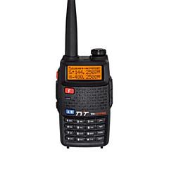 billige Walkie-talkies-TYT TH-UVF8D Walkie-talkie Håndholdt VOX Stemmekommando LCD FM Radio 5-10 km 5-10 km 128 1600.0 Walkie Talkie Toveis radio