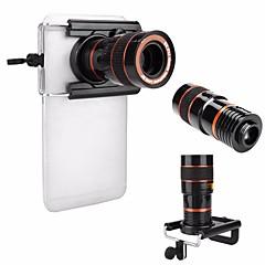 Universal hd 8x justierbares Fokus optisches Teleskop-Handy-Kameraobjektiv mit dem Klipp verwendbar für iphone und androide Telefone