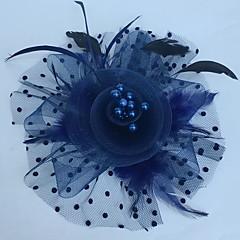 preiswerte Parykopfbedeckungen-Fascinatoren Hüte Kopfbedeckung with Blumig 1pc Besondere Anlässe Kopfschmuck