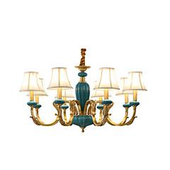Χαμηλού Κόστους Φώτα και ανεμιστήρες οροφής-8-Light Κηροπήγιο Πολυέλαιοι Uplight - Mini Style, σχεδιαστές, 110-120 V / 220-240 V Δεν συμπεριλαμβάνεται λαμπτήρας / 10 - 15㎡