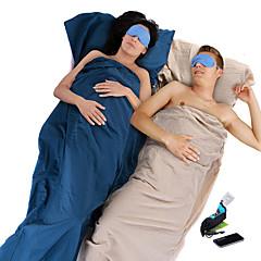 寝袋ライナー 封筒型 20°C 旅行用睡眠グッズ 210*75X75 キャンピング&ハイキング シングル 幅150 x 長さ200cm