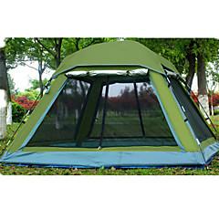 billige Telt og ly-2 personer Skjermhus Telt Enkelt camping Tent Ett Rom Brette Telt Vanntett Ultraviolet Motstandsdyktig Regn-sikker Støvtett til Camping &